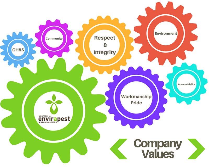 Envirapest Values Statement